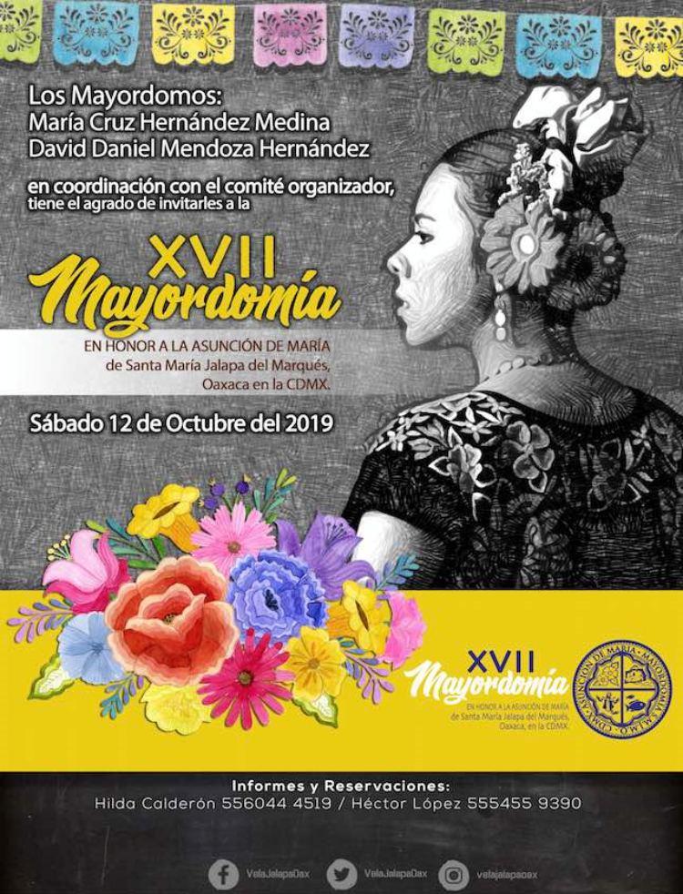 Celebrará Jalapa del Marqués mayordomía en la CDMX