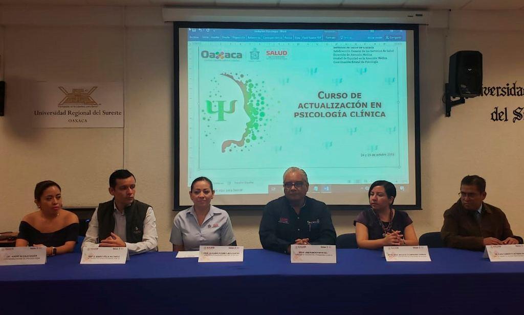Actualiza SSO a psicólogos en atención de violencia familiar y de género
