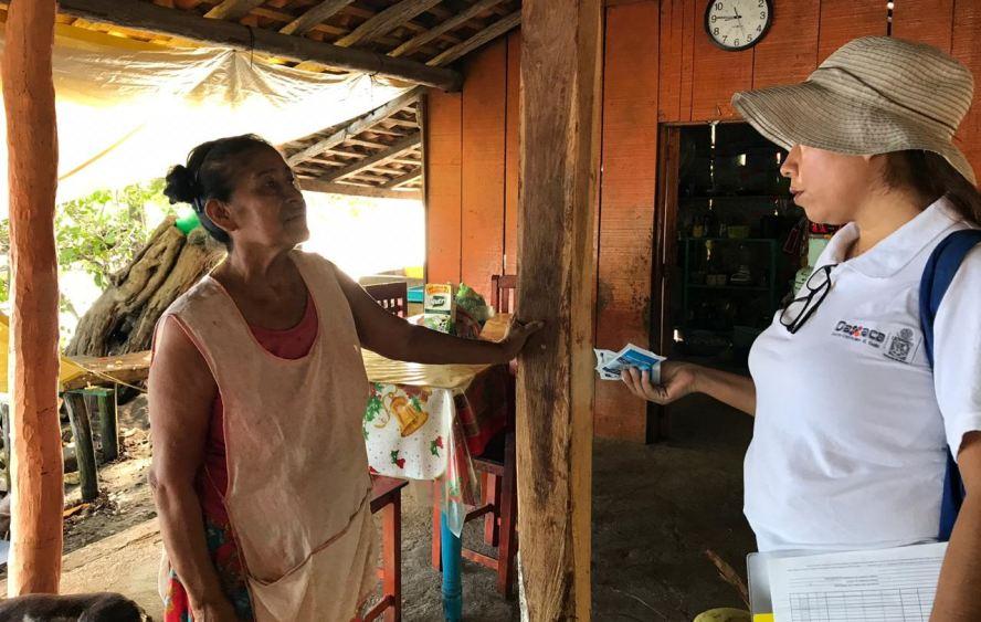 Continúa SSO con acciones permanentes contra el dengue