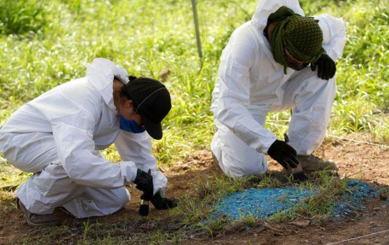 Hallan ropa y restos humanos en búsqueda de desaparecidos en Oaxaca
