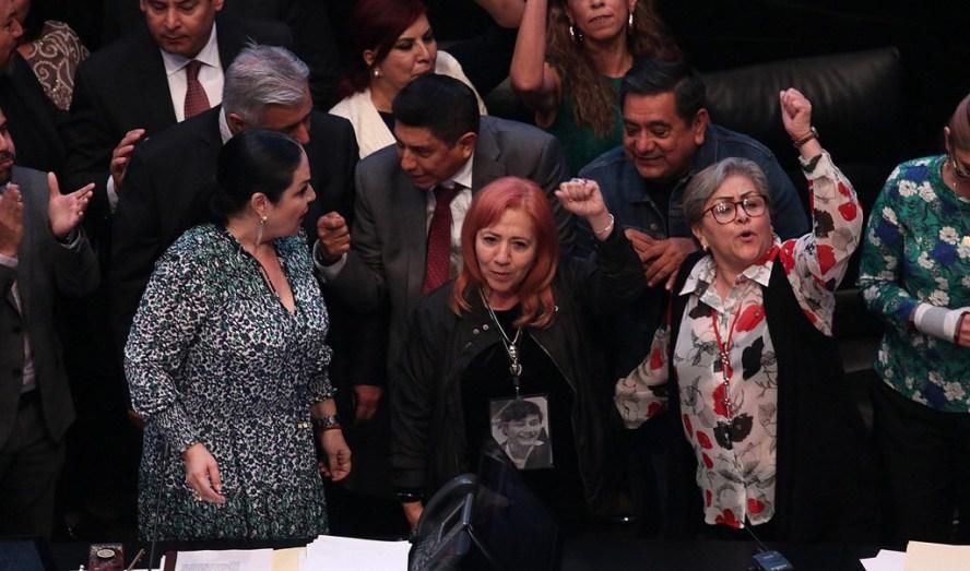 PRD desconoce a Rosario Piedra como titular de la CNDH