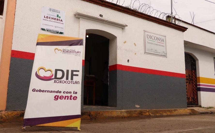 Incrementará padrón de beneficiarios de leche LICONSA en Xoxocotlán