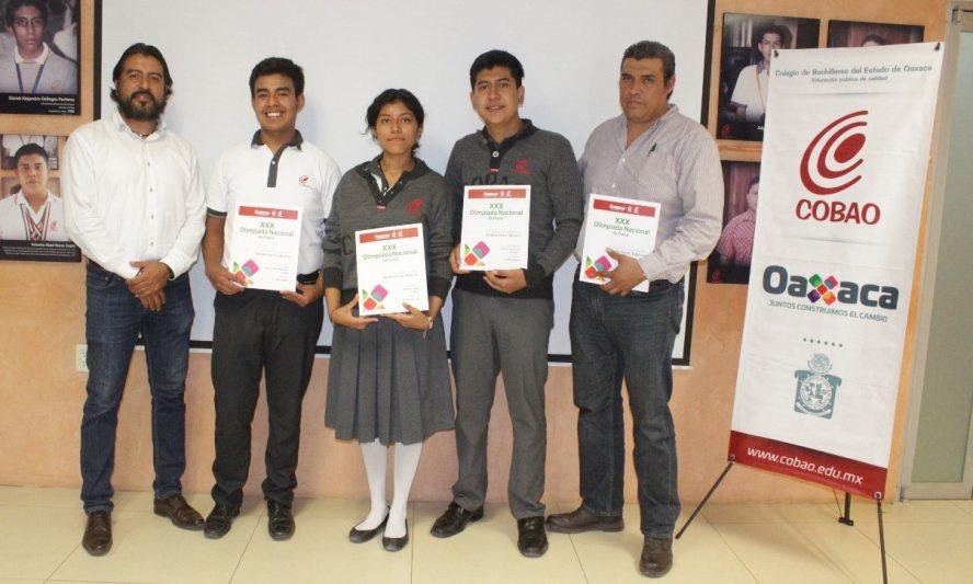 Estudiantes del Cobao participarán en la Trigésima Olimpiada Nacional de Física