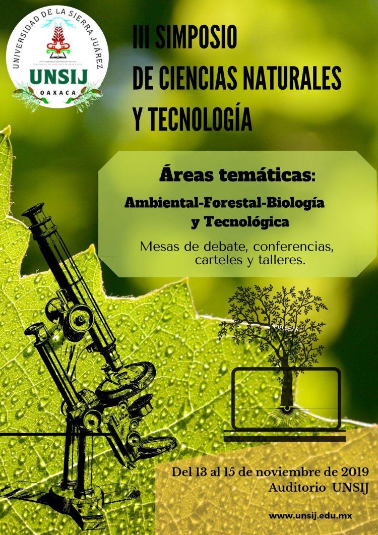 La Universidad de la Sierra Juárez celebrará su III Simposio de Ciencias Naturales y Tecnologías