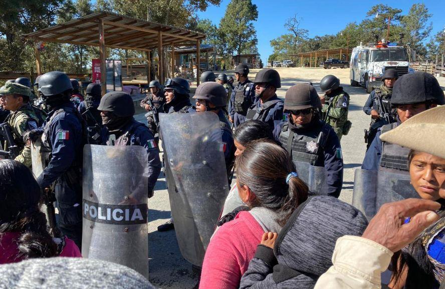 Sin incidentes, SSPO y Guardia Nacional recuperan El Pedimento de Juquila