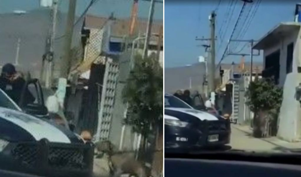 ¡Sin piedad! Policía dispara contra un perro en Tijuana
