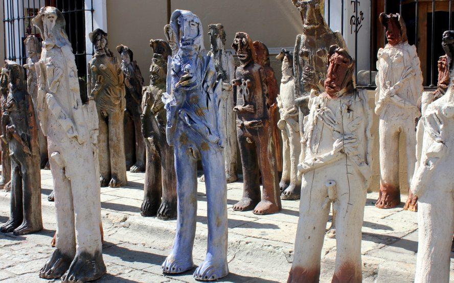 «2501 Migrantes» del oaxaqueño Alejandro Santiago llega al Museo de San Ildefonso