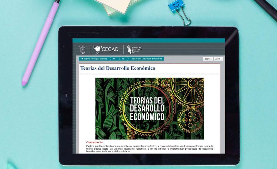 CECAD-UABJO abre inscripciones a la licenciatura en línea: Economía Social y Desarrollo Local