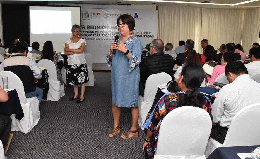 Oaxaca, sede de la Cuarta Reunión Nacional de la Universidad Pedagógica Nacional