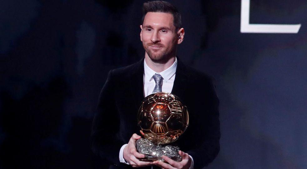 Messi gana su sexto Balón de Oro y supera a Cristiano Ronaldo