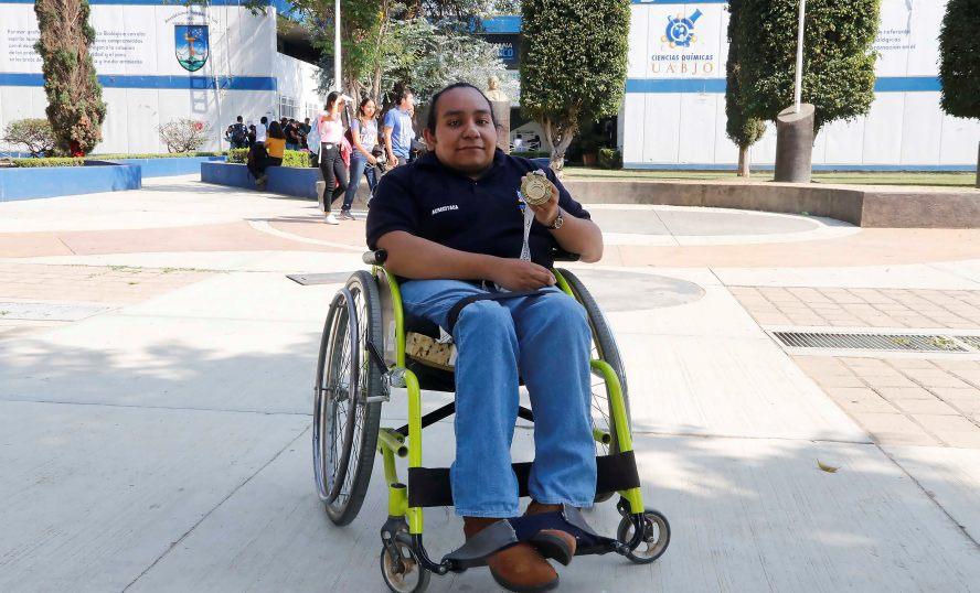 Estefany Itamar Ruíz gana medalla de oro en Paralimpiada Nacional