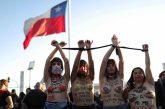 Miles de chilenas interpretan de nuevo 'Un violador en tu camino'