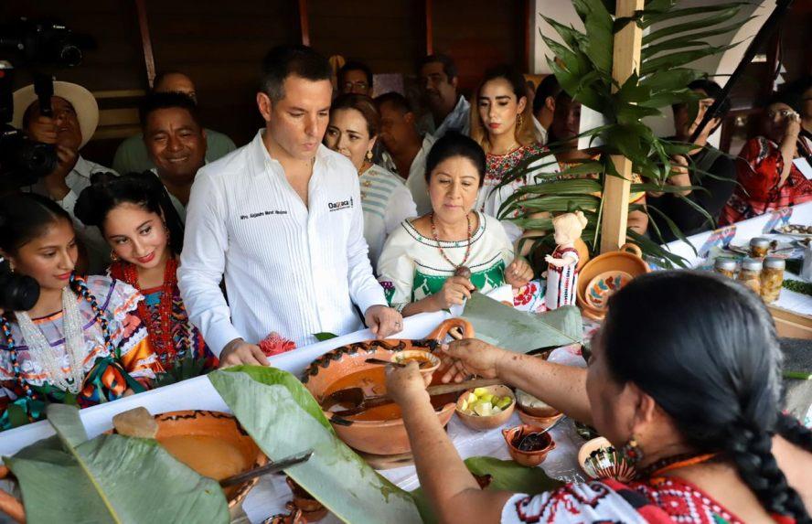Gastronomía, cultura milenaria de Oaxaca que nos destaca en el mundo: Alejandro Murat