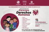 Invita Ayuntamiento a la Tercera Jornada de la Caravana de los Derechos Humanos