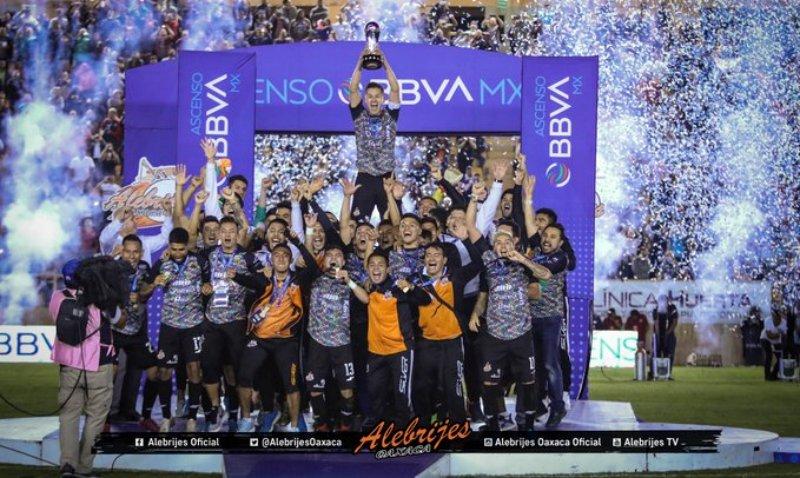 Alebrijes de Oaxaca, Campeón Del ASCENSO BBVA MX