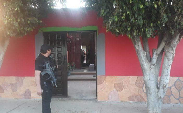 En cateo realizado en San Pablo Huixtepec, Fiscalía General asegura drogas y detiene a siete personas