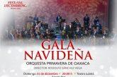 Invita Seculta al concierto Gala Navideña en el Teatro Juárez