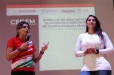 Entrega el Incude Oaxaca material a 150 municipios del Cedem