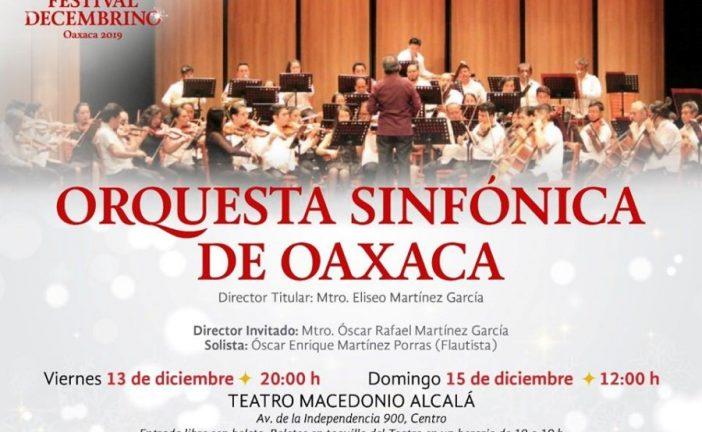 Fin de semana con la Orquesta Sinfónica de Oaxaca: Seculta