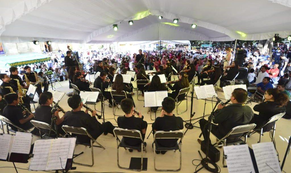 Orquesta Sinfónica Infantil y Juvenil del IEEPO fortalece habilidades artísticas de niños y jóvenes