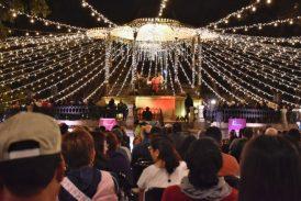 Celebra Ayuntamiento a compositores oaxaqueños en el Zócalo de la ciudad