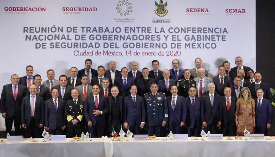 Refrenda Gobierno de Oaxaca compromiso para fortalecer la estrategia de seguridad