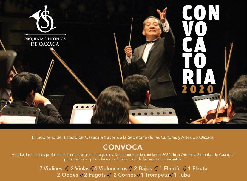 Invita Seculta a integrarse a la Orquesta Sinfónica de Oaxaca