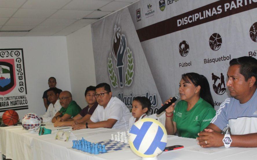 Presenta Incude en la Cuenca y Costa la convocatoria de Juegos Nacionales