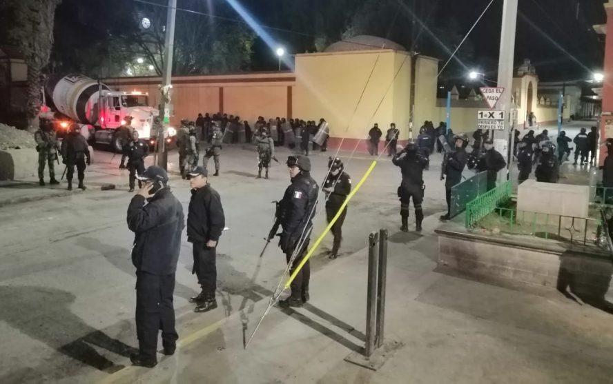 Mantiene SSPO presencia disuasiva en el municipio de Tlacolula