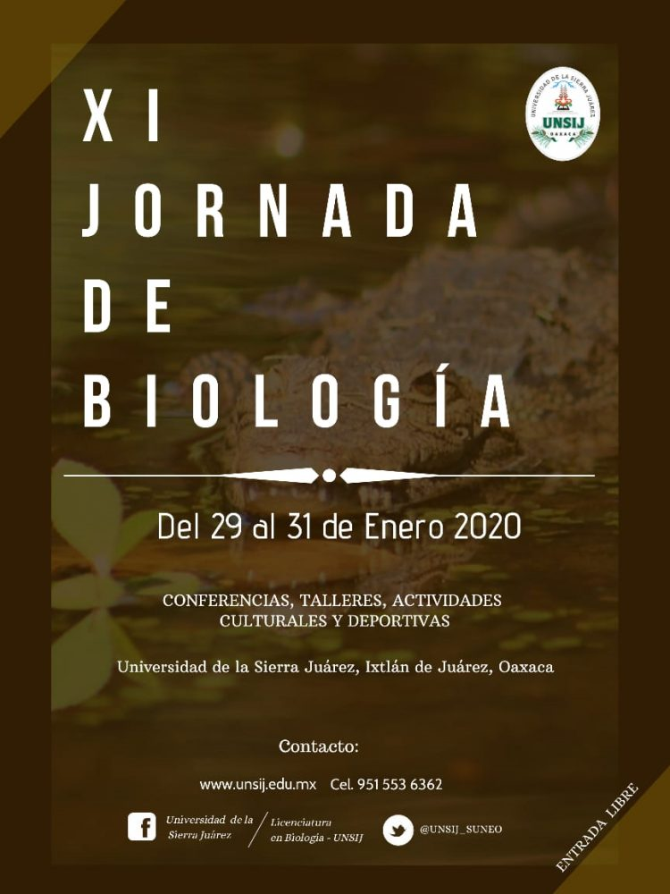 La Universidad de la Sierra Juárez celebra su XI jornada de biología