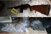 En cateo realizado en Santa Ana Tlapacoyan, Fiscalía de Oaxaca asegura drogas y armas
