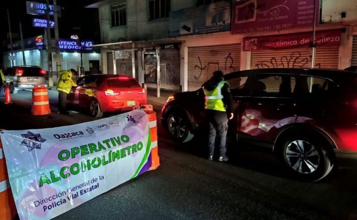 Realizarán servicio comunitario 38 automovilistas que dieron positivo durante Operativo Alcoholímetro