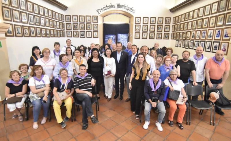 Consolida Oswaldo García puente de amistad entre Oaxaca de Juárez y Brihuega, España