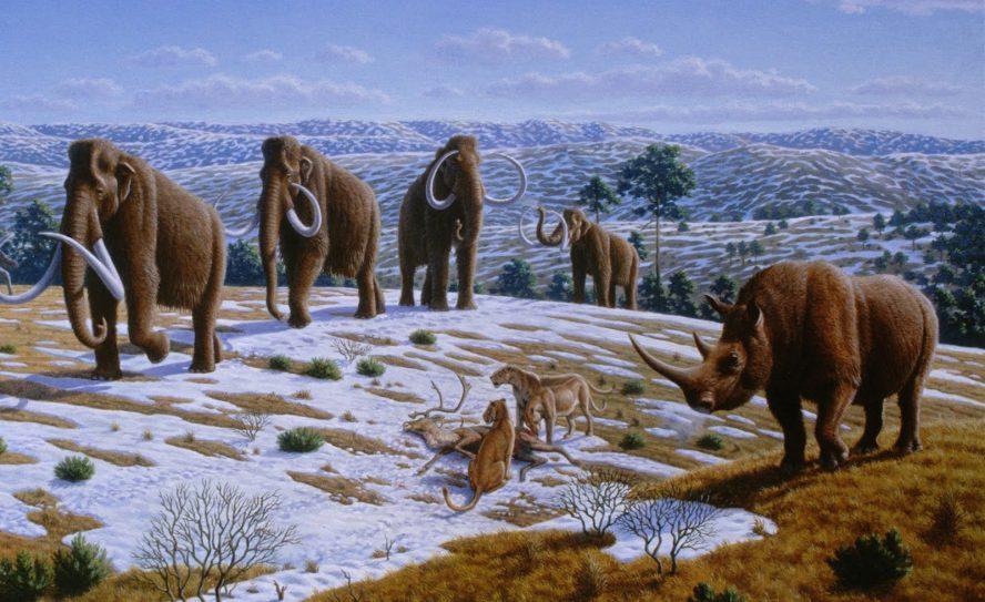 La Edad de Hielo alteró el clima