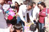 Cumple DIF Municipal con la entrega de 5 mil obsequios en la Ruta del Juguete