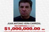 Ofrece Fiscalía de Oaxaca un millón de pesos por información del paradero de Juan Antonio Vera Carrizal