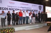Inauguran la etapa Estatal de Juegos Nacionales Conade 2020