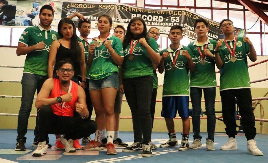 Lista la selección oaxaqueña de boxeo para el Regional-Nacional