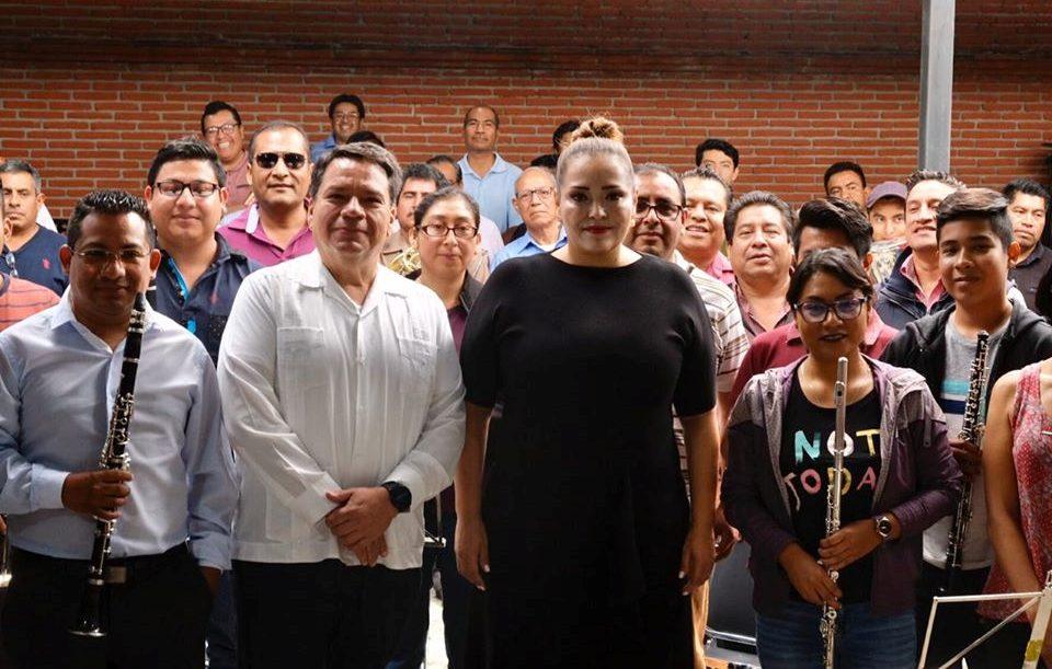 Seculta presenta al nuevo director de la Banda de Música de Oaxaca