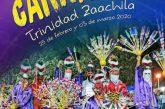 Invita Trinidad Zaachila a su tradicional Carnaval 2020