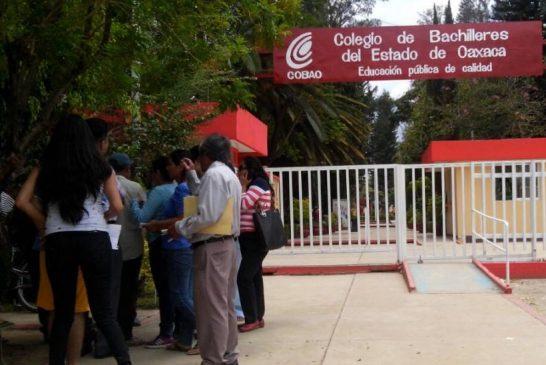 Alumna denuncia caso de acoso en Cobao plantel 38 Tlaxiaco
