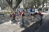 Sanea Ayuntamiento de Oaxaca de Juárez el Zócalo capitalino
