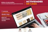Ofrece Ayuntamiento de Oaxaca de Juárez opciones para sano esparcimiento en casa
