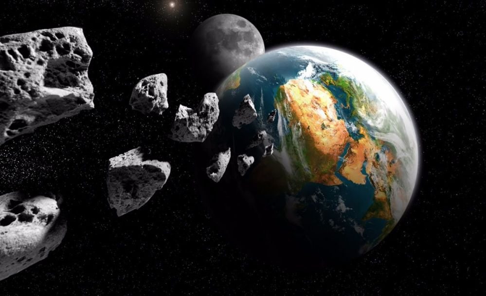 La NASA informa de 6 asteroides que se acercan a la Tierra esta semana, no representan peligro