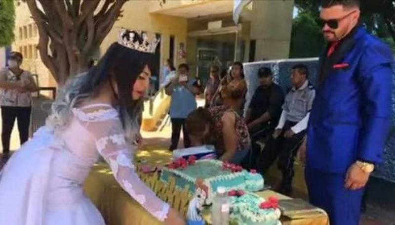 Pareja de Guanajuato pospone su fiesta de boda por COVID-19 y dona banquete a un hospital