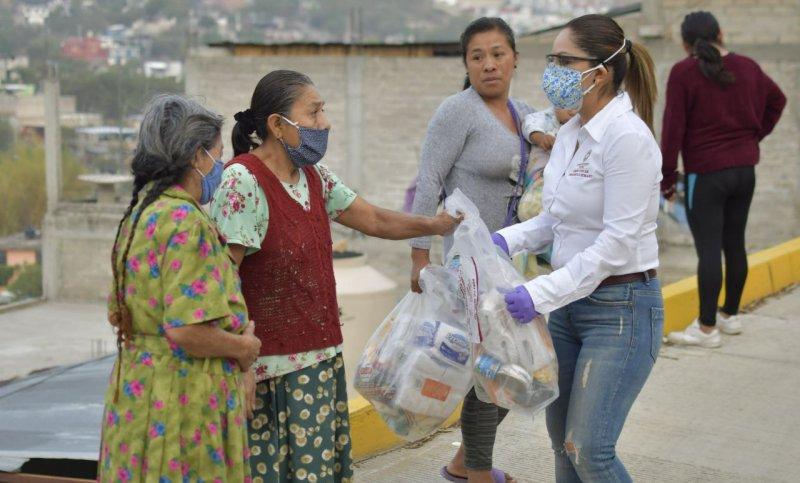 Programa de apoyo alimentario del Ayuntamiento de Oaxaca beneficia a familias de 96 colonias
