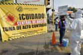 Central de Abasto de Oaxaca, Zona de alto contagio