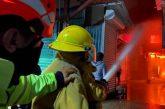 Agradece edil Oswaldo García a cuerpos de emergencia por sofocar incendio en Mercado de Abasto