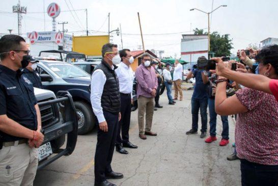 Anuncia Alejandro Murat 100 mdp para la rehabilitación y mejoramiento de la Central de Abasto