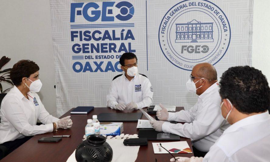 Fiscalía de Oaxaca y el IEEPO suscriben convenio de colaboración a favor de mujeres, niñas, niños y adolescentes víctimas de violencia